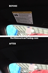 2015 Ford Mustang Visor Warning Label Covers