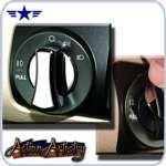 2005 - 2009 Mustang Action Artistry Headlamp Knob Cover