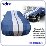2005 - 2013 Mustang Shelby Custom Fit Car Cover with Stripes