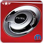 2008 - 2014 Challenger Mopar Chrome Fuel Door