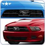 2010 2011 2012 Mustang V6 Pony Grille