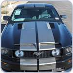 2005 - 2009 Mustang Trufiber GTS-3 Hood without Recess