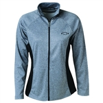 CHEVROLET LADIES VAN SPORT HEATHER BLOCKED JACKET