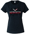 Ladies T- shirt with C7 corvette Racing