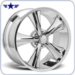 2005 - 2014 Mustang Rocket 18x9 Chrome Booster Wheel