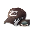 CHEVY TRUCKS FUZION CAP -BROWN