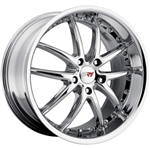 C6 Corvette SR1 Apex Performance Wheels - Chrome