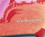 C6 Corvette Stainless Steel Rear Letters