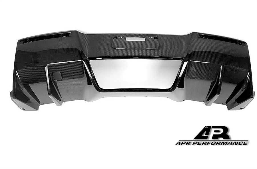 C7 Corvette Replacement APR Carbon Fiber Lower Rear Diffuser