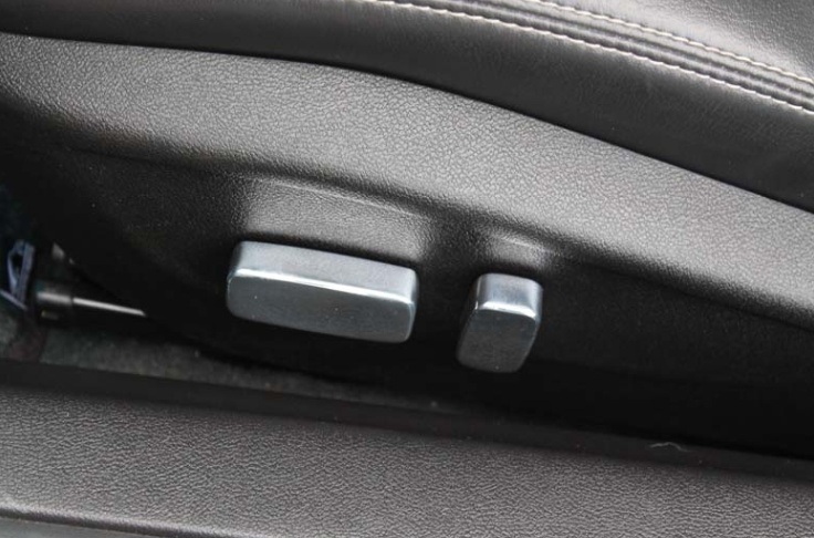 2010-2014 Camaro Billet Power Seat Button Covers