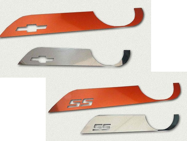 2010-2014 Camaro Door Kick Plates - Billet