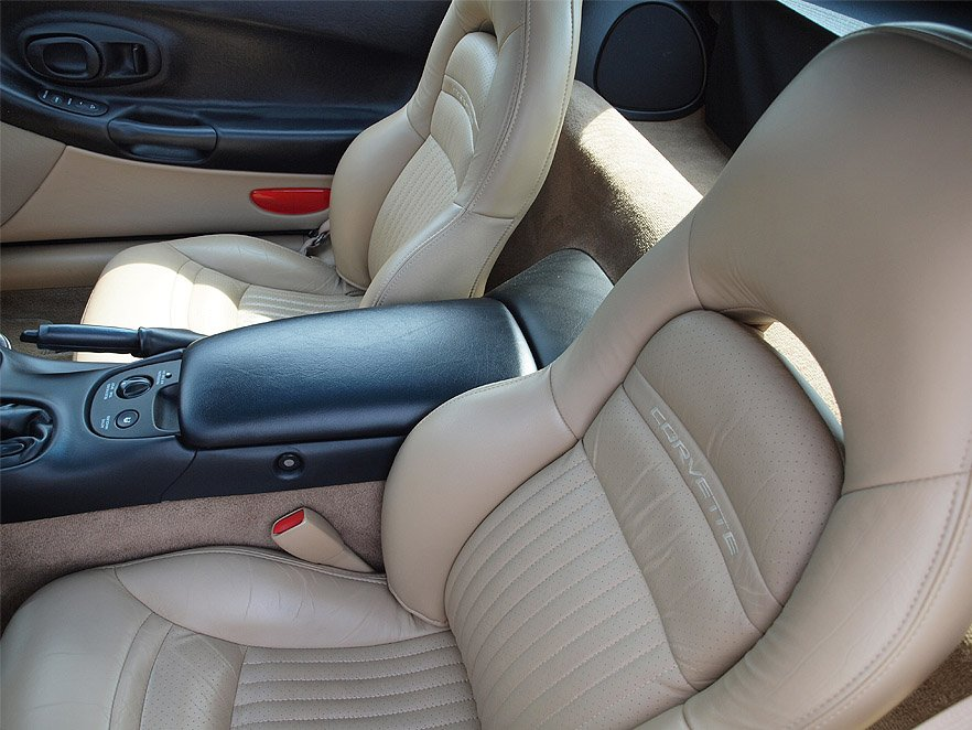 Corvette Replacement Leather Like Seat Covers -C5