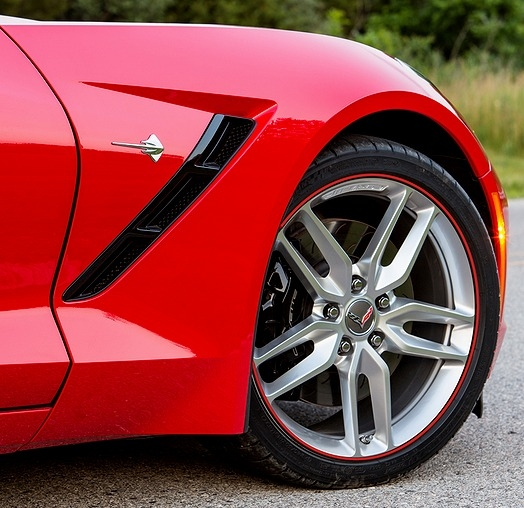 C5 Corvette Wheel Bands - Fits Base and Z06