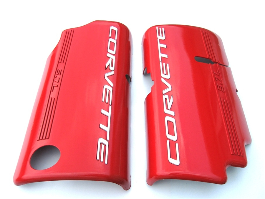 1999-2004 C5 Corvette Painted Fuel Rail Covers -Smooth