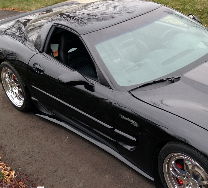 C5 Corvette ZR1 Style Side Skirts and Front Splitter Package Deal