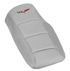 C6 Corvette Console Cushion Lids Logo Embroidered - One Color