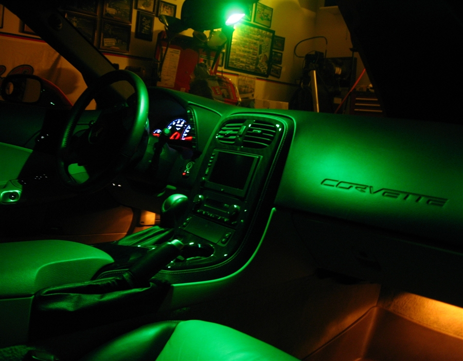 C6 Corvette LED Map Lighting Kit