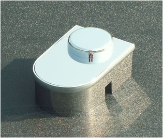 C6 Corvette Stainless Master Cyl Cover