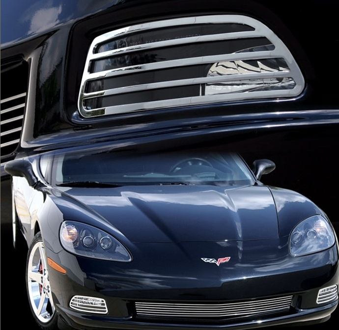 C6 Corvette Billet Aluminum Covers