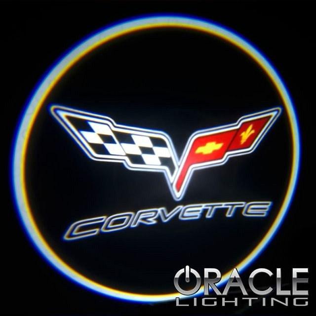 C6 Corvette GOBO Floor LED Light Projector Kit