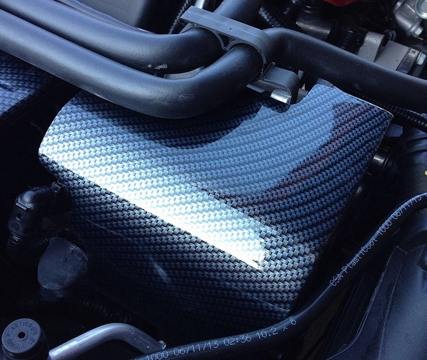 C7 Corvette Carbon Fiber Alternator Cover