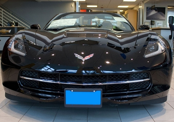 C7 Corvette Stingray STO N SHO Front License Plate Holder