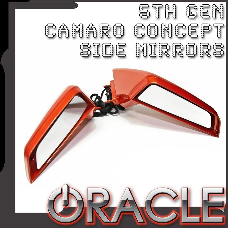 2010-2014 Camaro Concept Oracle Side View Mirrors