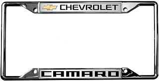 2010-2014 Camaro License Plate Frame