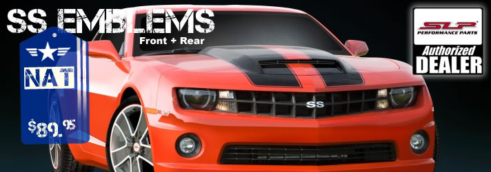 2010 2011 2012 Camaro SS Front + Rear Badges Set