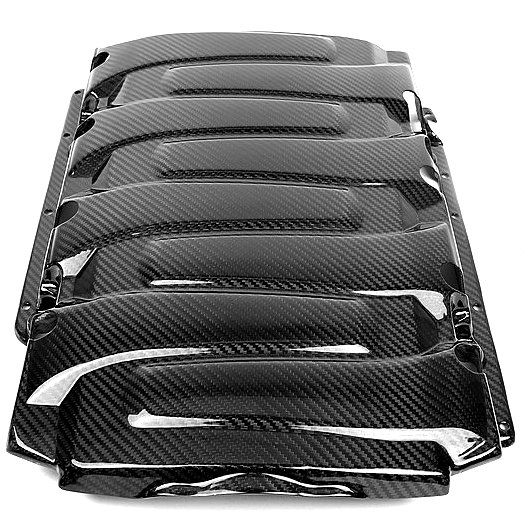 C7 Corvette Carbon Fiber Engine Cover Package by APR