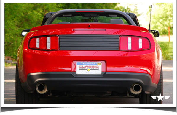 2010 Ford Mustang Deck Lid Trim Panel from CDC Classic Design Concepts
