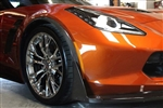 C7 Corvette Z06 APR Carbon Fiber Front Fender Well Extensions Spats