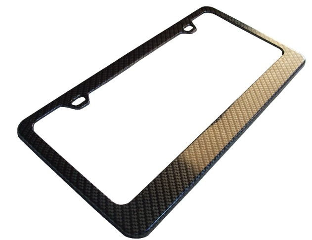 C5 Corvette Carbon Fiber License Plate Frame