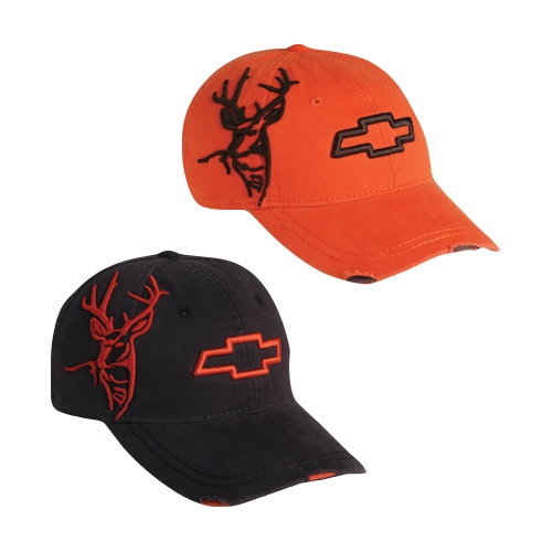 CHEVY 3-DBUCK CAP