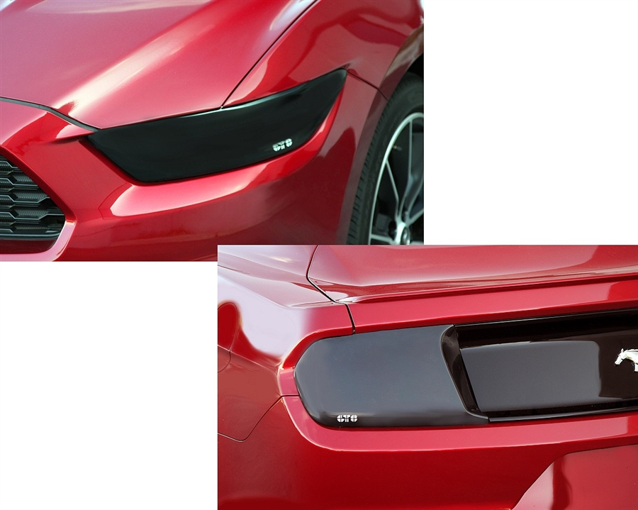 2015 Ford Mustang GT Styling Headlight and Taillight Blackouts Package