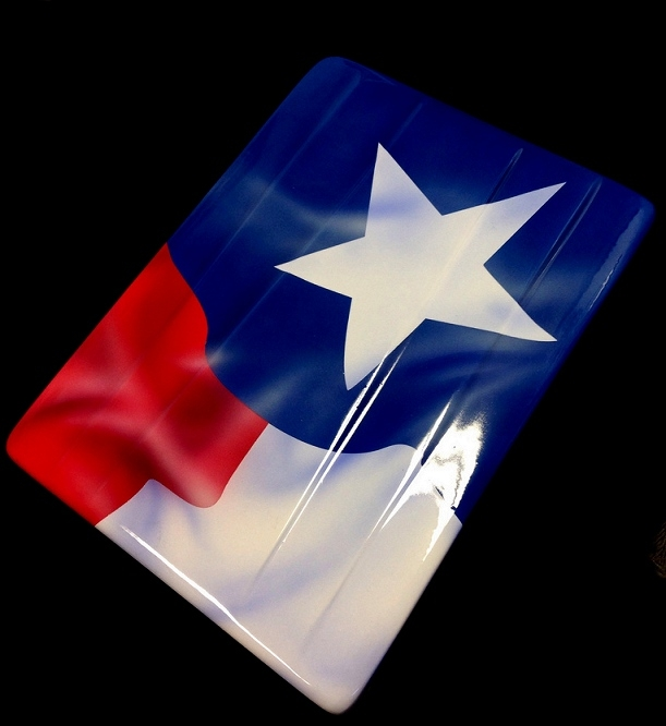 Heritage Series Airbrushed Texas Flag C7 Corvette Parts