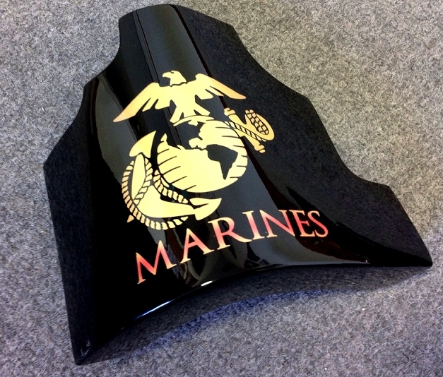 Heritage Series Airbrushed MARINES C7 Corvette Parts