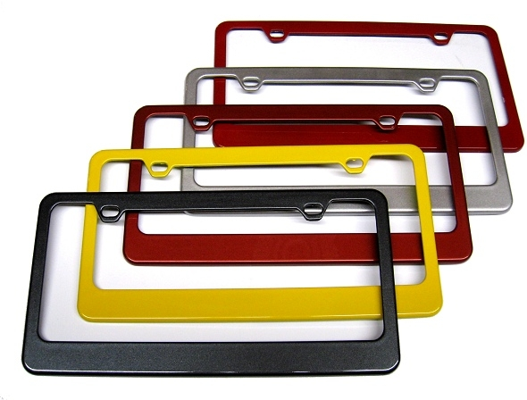 2015 Ford Mustang Painted License Plate Frame