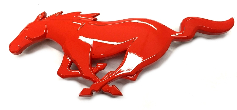 2015 Ford Mustang Painted Front Grille Running Pony Emblem