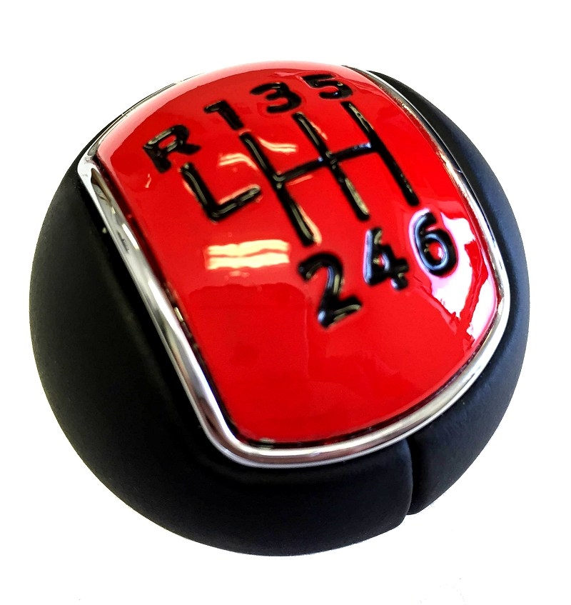 2015 Ford Mustang Custom Painted 6-speed Gear Shift Knob Ball