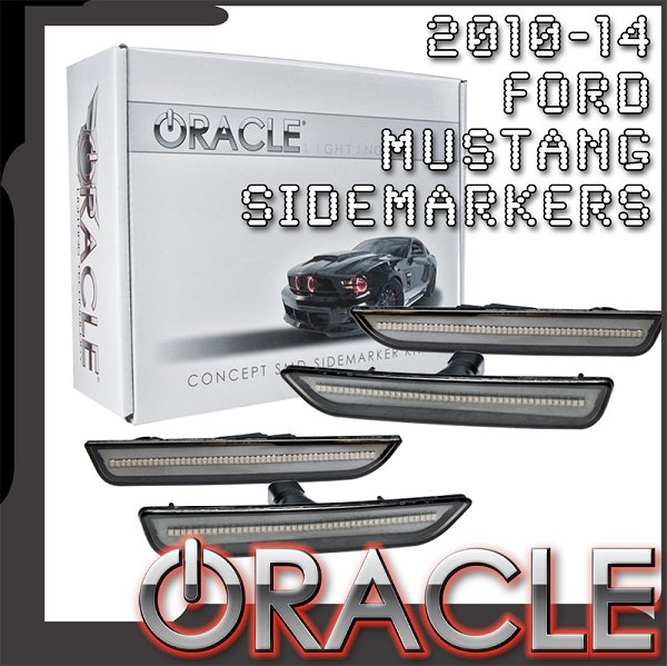 2010-2014 Mustang ORACLE Concept Sidemarker Set