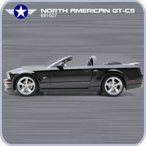 2005 - 2009 Mustang GT Convertible 5-Piece Body Kit 3D Carbon