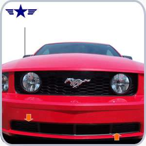 2005 2006 2007 2008 2009 Mustang Gt Lower Grille 7r3z