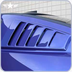 2005 2014 mustang cdc louvers 110042 for 06 mustang rear window louvers