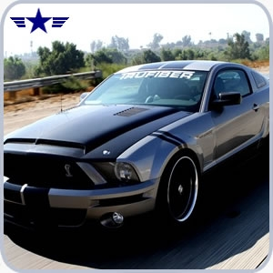 2005 - 2009 Mustang GT500 Venom Carbon Fiber Hood with Recess