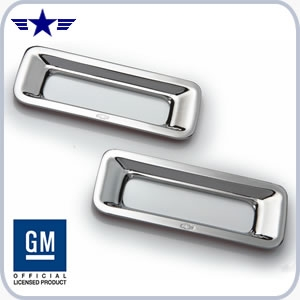 2010 2011 2012 2013 2014 2015 Camaro Chrome Reverse Light Surrounds