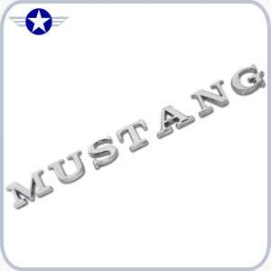 2005 2006 2007 2008 2009 MUSTANG Stick-On Letters