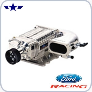 2007 Mustang GT Ford Racing Polished SuperCharger, M-6066-M11P7