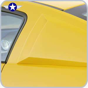 2005 2006 2007 2008 2009 Mustang Xenon Window Scoops
