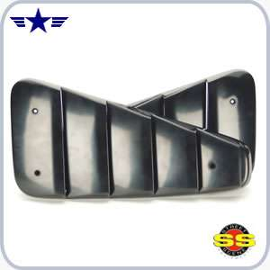 2005 2006 2007 2008 2009 mustang paintable window louvers for 06 mustang rear window louvers